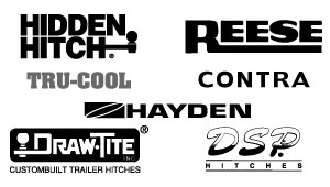 Hidden Hitch, Reese, Tru-Cool, Contra, Hayden, Draw-Tite, DSP Hitches